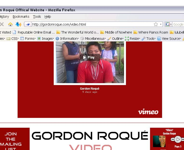 gordonvideopage
